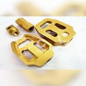 ชุบอโนไดซ์สีทอง